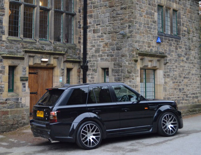 Range Rover Sport Xclusive Wide Body Kit Xclusive Customz