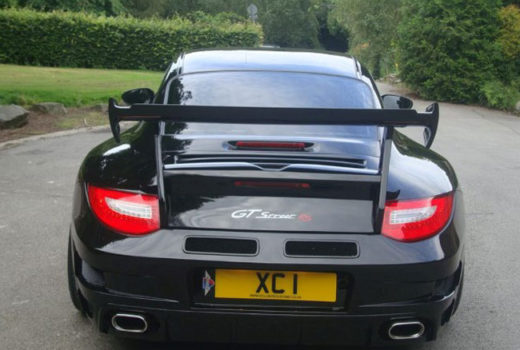 Porsche 911 Turbo Wide Xclusive Rear2