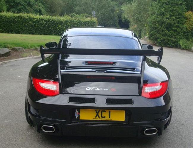 Porsche 996 spoiler