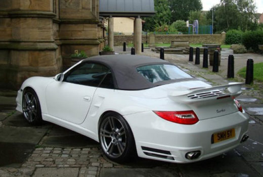 Porsche 911 Turbo for 997 Rear1