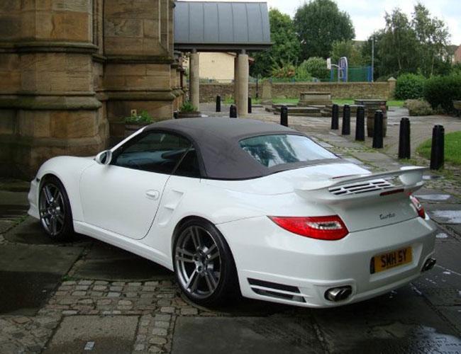 porsche 911 turbo for 997 rear1 xclusive customz. Black Bedroom Furniture Sets. Home Design Ideas