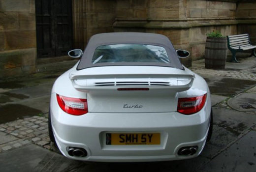 Porsche Porsche 911 Turbo for 997 Rear3