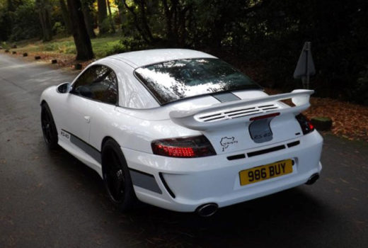 Porsche 996 997 Full Bodykit Rear2