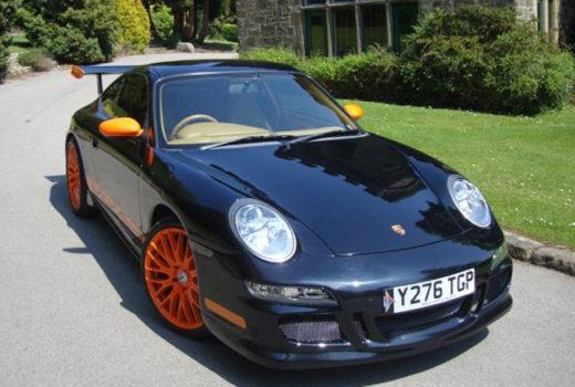 Porsche 996-997 gt3 front end Front2