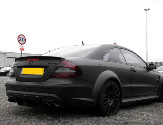CLK-Black-Side2 Mercedes CLK-Black-Side2