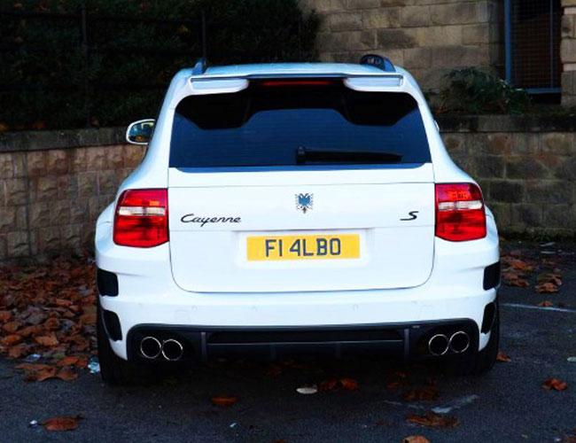Cayenne-Xclusive-Wide-Rear1 Porsche Cayenne Xclusive  Wide Rear1