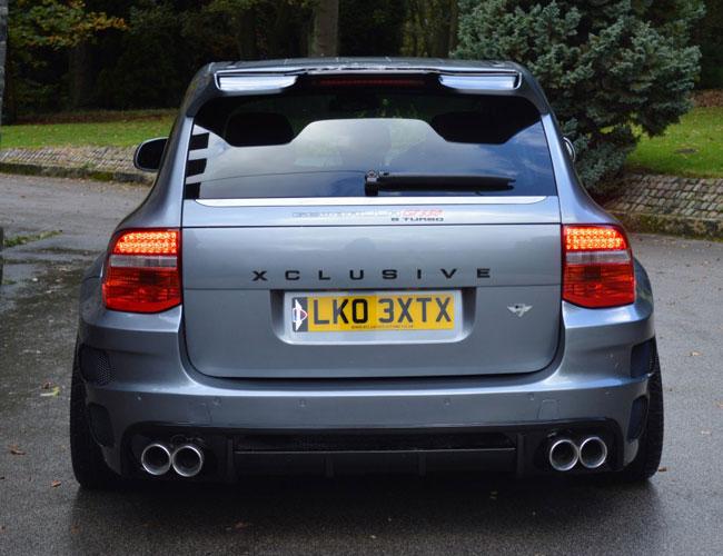 Cayenne-Xclusive-Wide-Rear2 Porsche Cayenne Xclusive  Wide Rear2