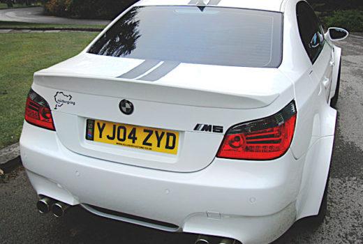 BMW-E60-M5-Rear1
