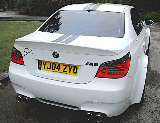 bmw e60 to m5 wide boot spoiler xclusive customz. Black Bedroom Furniture Sets. Home Design Ideas
