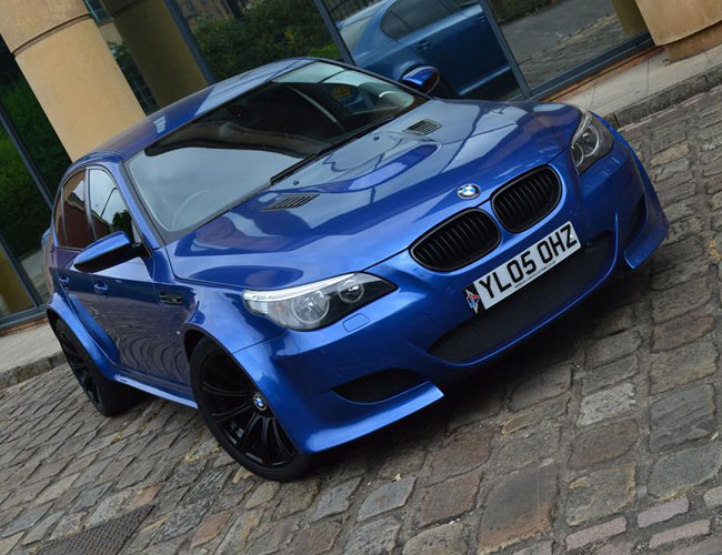 Bmw E60 To M5 Wide Body Kit Xclusive Customz