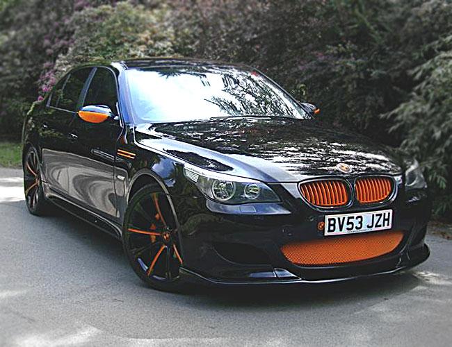 E60E61-M5-Front1 BMW-E60E61-M5-Front1