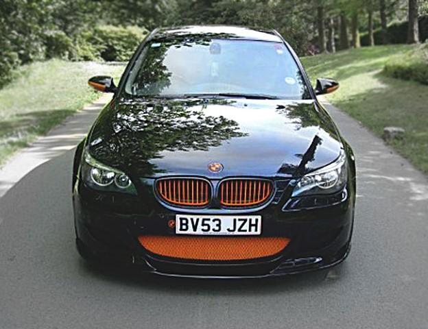 E60E61-M5-Front21 BMW M5 E60