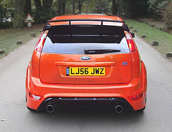 Ford Focus Rs 3 Door Roof Spoiler Xclusive Customz
