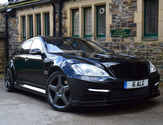 Mercedes S Class To Black Series Wide Body Kit