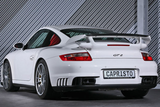 Porsche GT2 Look for 997 Rear1