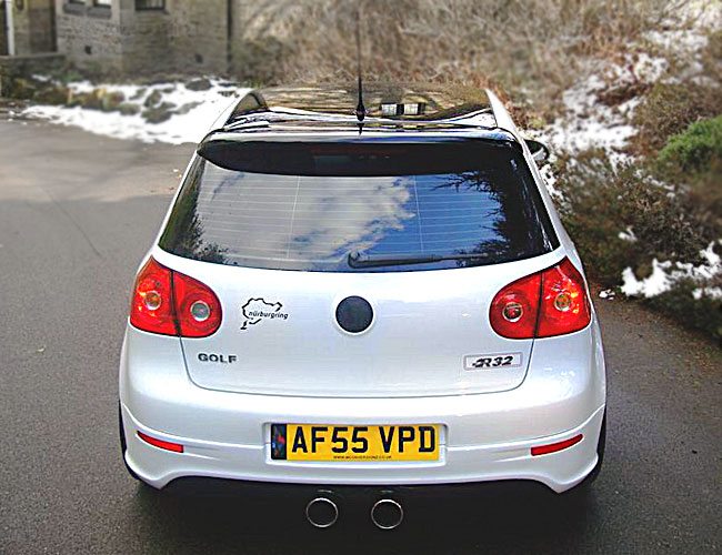 Golf-V-to-R32-Rear1 Golf-V-to-R32-Rear1
