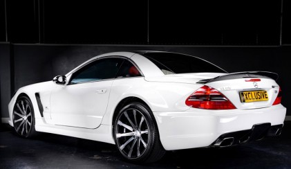 Medium-SL65-WHITE-421x244 Mercedes SL65 Xclusive Wide Arch Body Kit
