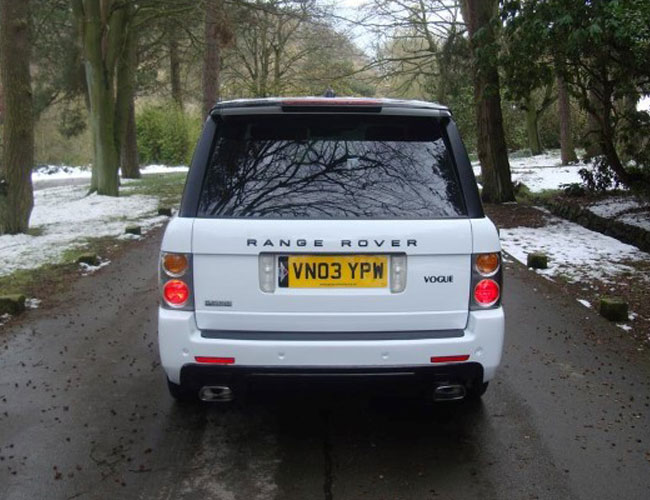 Range Rover Vogue Hse Roof Spoiler Xclusive Customz