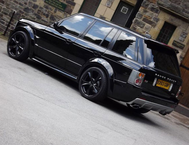 Range Rover Vogue Hse Wide Body Kit Xclusive Customz