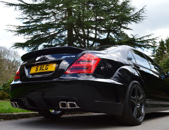 Rear1 Mercedes S Class Black Edition Rear1