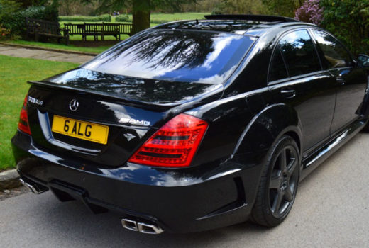 Mercedes S Class Black Edition Rear2