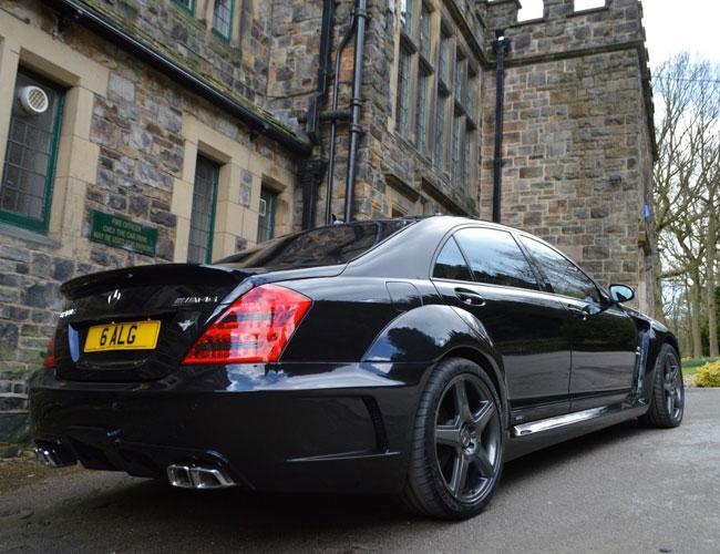 Rear3 Mercedes S Class Black Edition Rear3