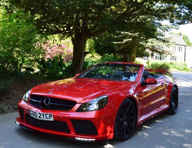 Mercedes Sl R230 To Sl65 Black Series Conversion Wide