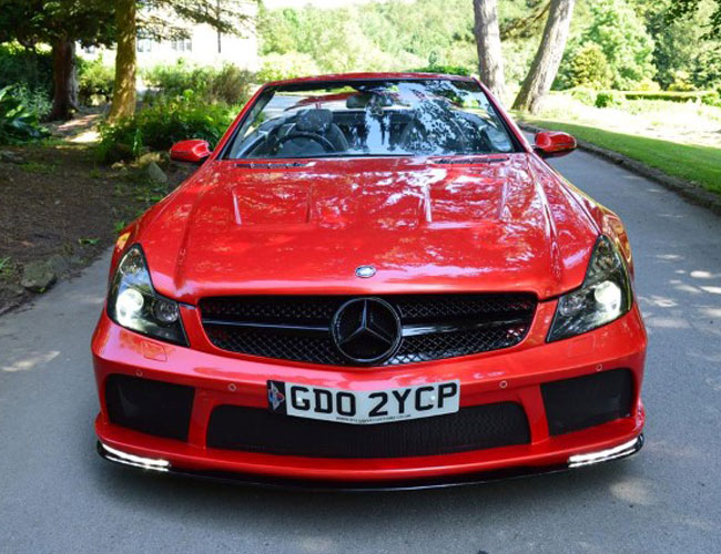 SL-R230-to-SL65-Black-Series-Front4 Mercedes SL R230 to SL65 Black Series Front4
