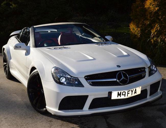 SL-R230-to-SL65-Black-Series-Side2 Mercedes SL R230 to SL65 Black Series Side2
