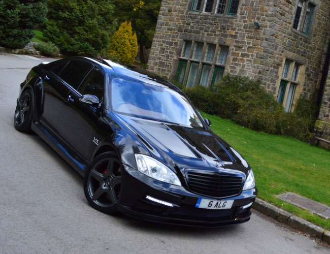 Side1 Mercedes S Class Black Edition Side1