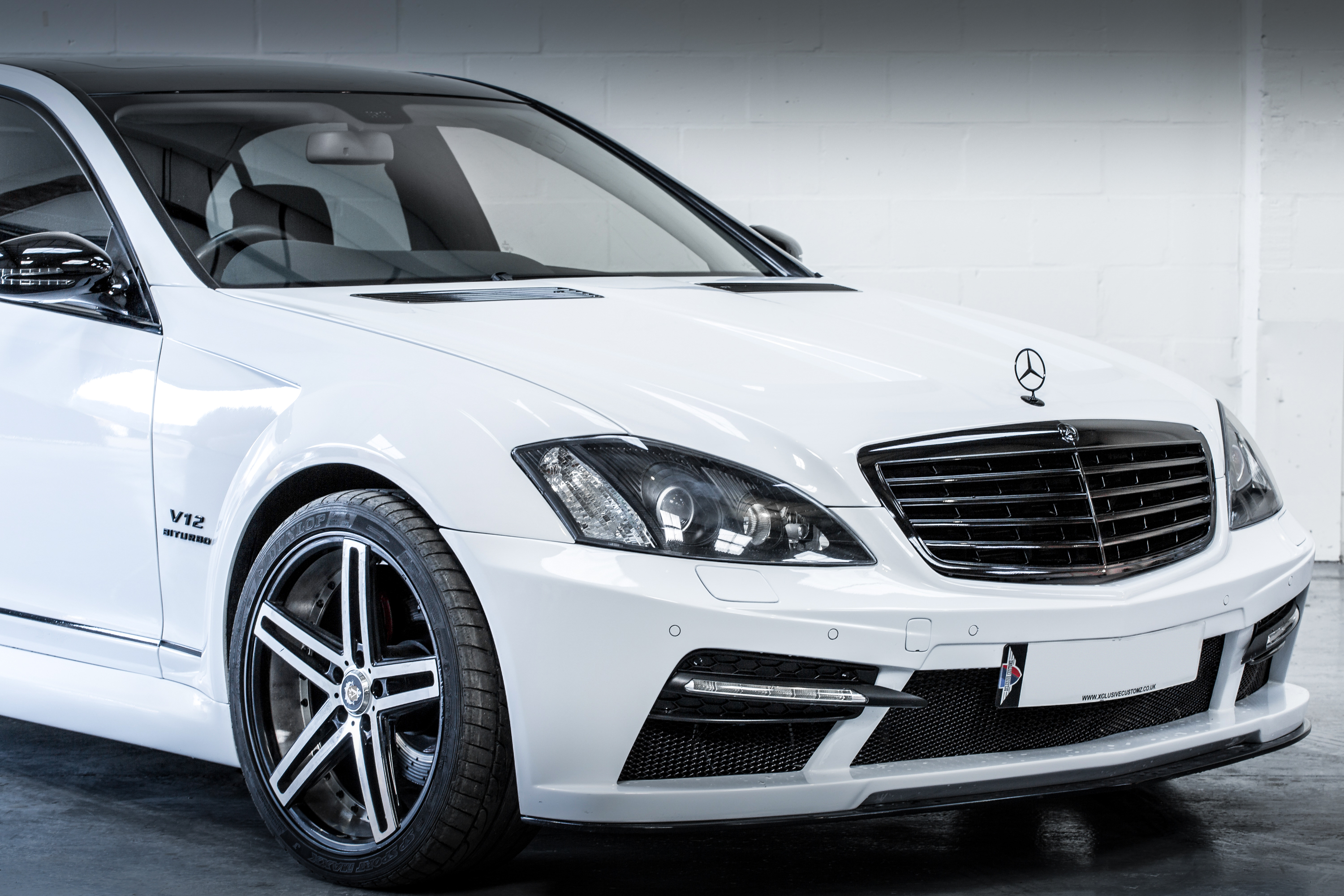 V17A1498 Mercedes S-Class to Black Series Wide Kit