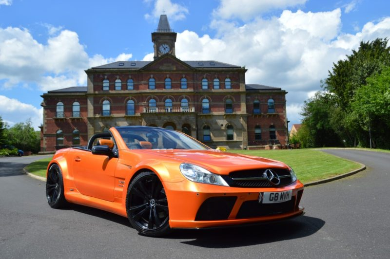DSC_0819-Medium-800x532 Mercedes SL R230 to SL65 Black Series Xclusive Customz Orange 7