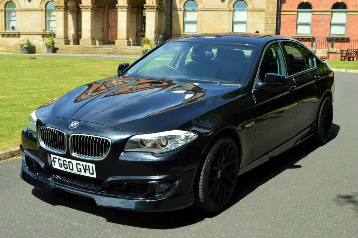 57-9 BMW 5 Series F10 Lip Kit