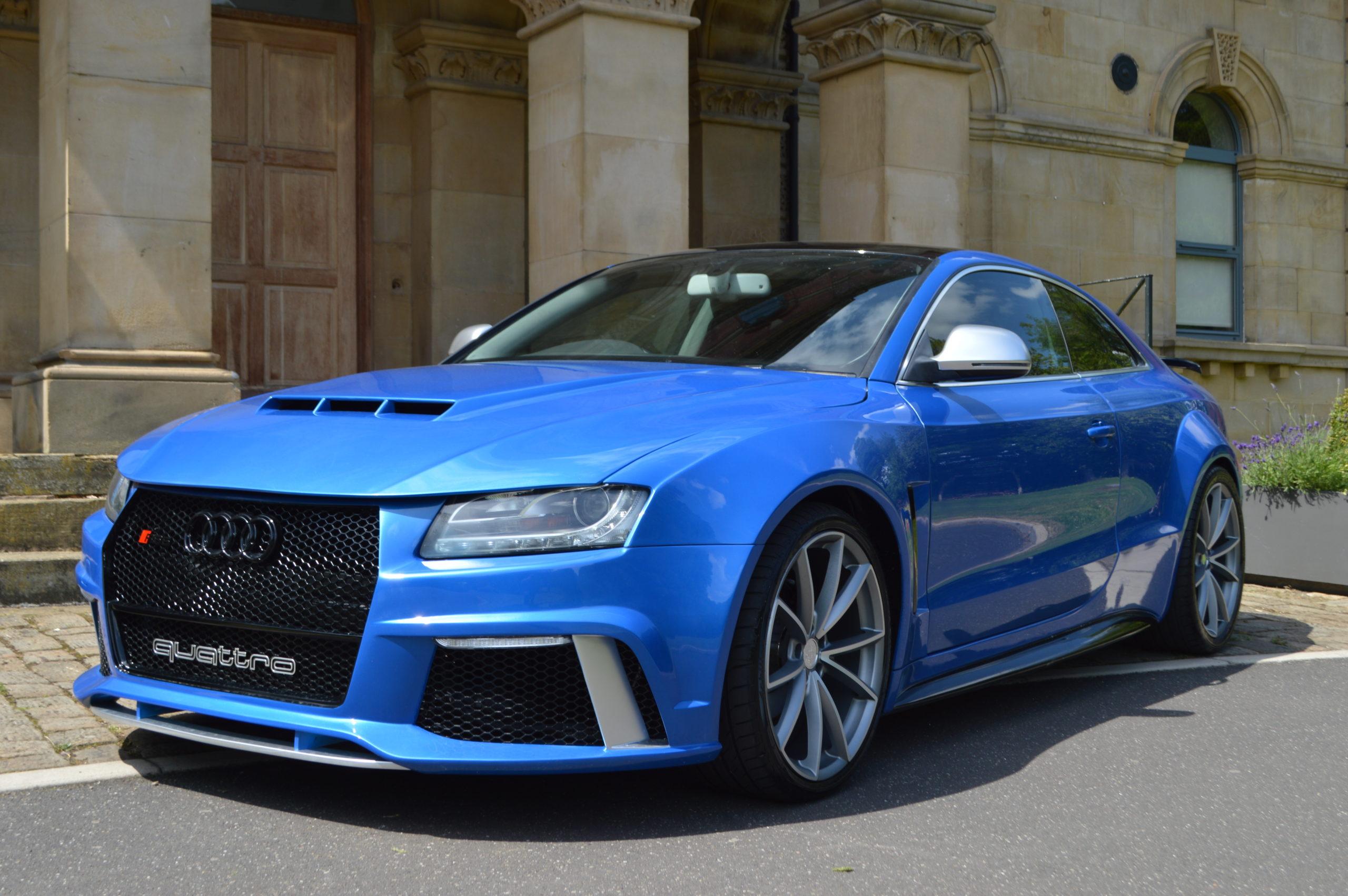 Audi A5 Xclusive Wide Body Kit Xclusive Customz