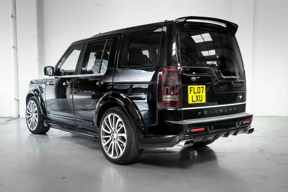Land Rover Discovery Roof Spoiler Xclusive Customz