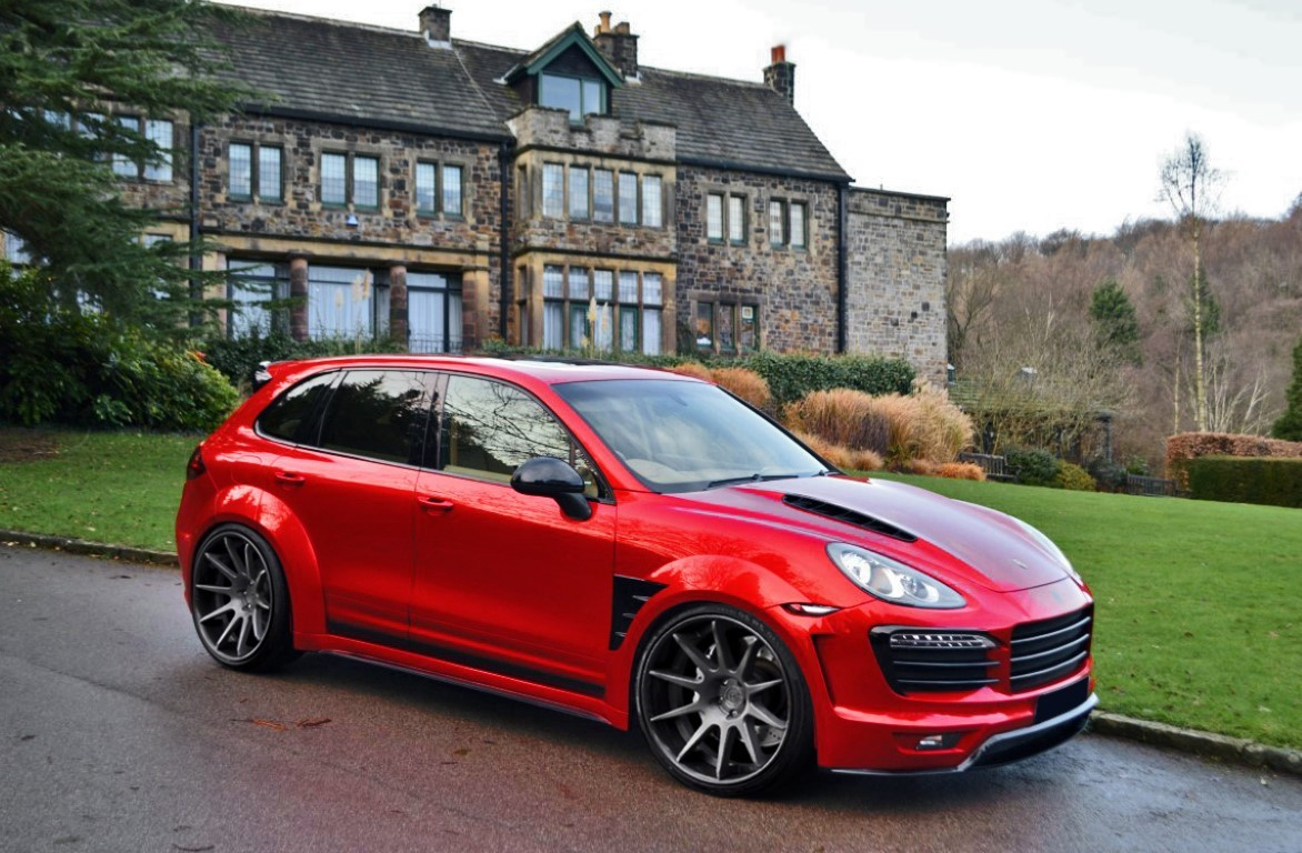 Porsche Cayenne 958 Body Kit Xclusive Customz