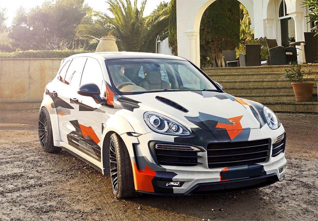 Porsche Cayenne 958 Body Kit Xclusive Customz