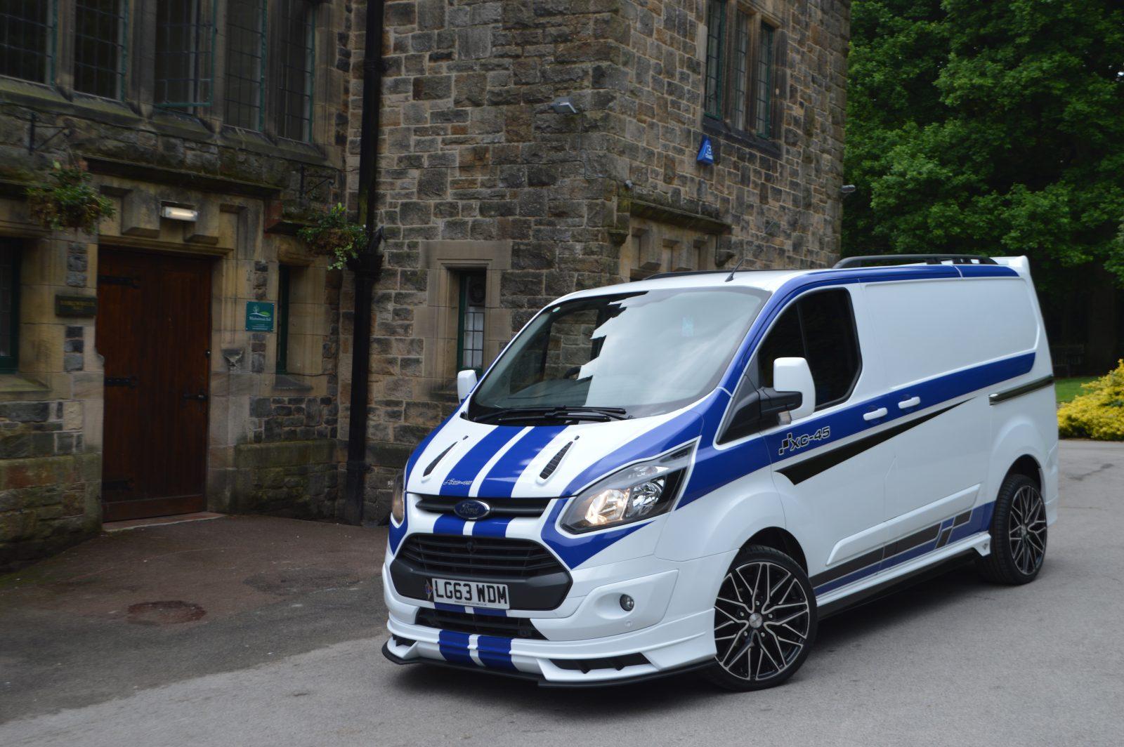 ford transit custom front bumper excluding   splitter xclusive customz