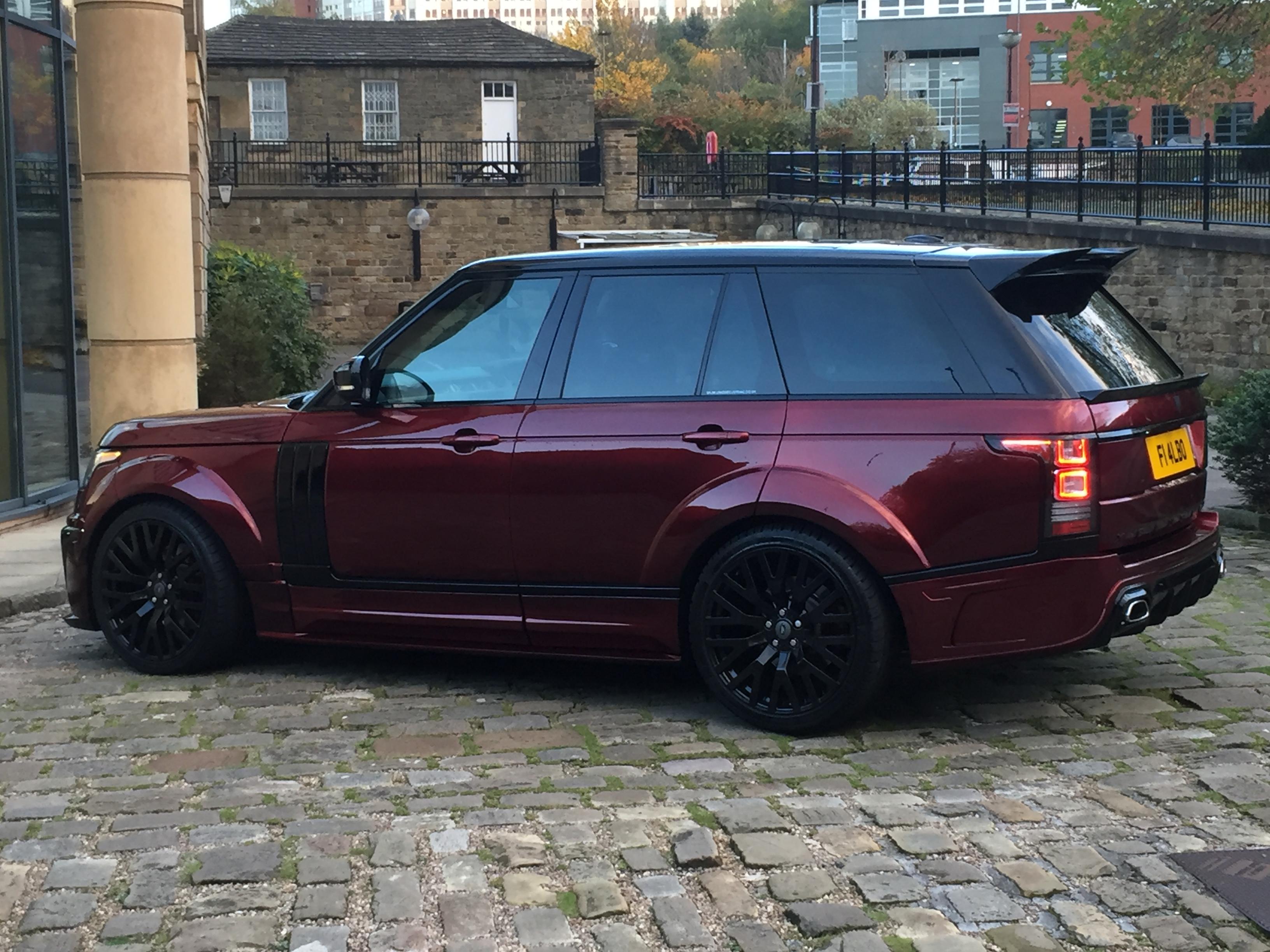 Range Rover Vogue L405 Full Body Kit Xclusive Customz