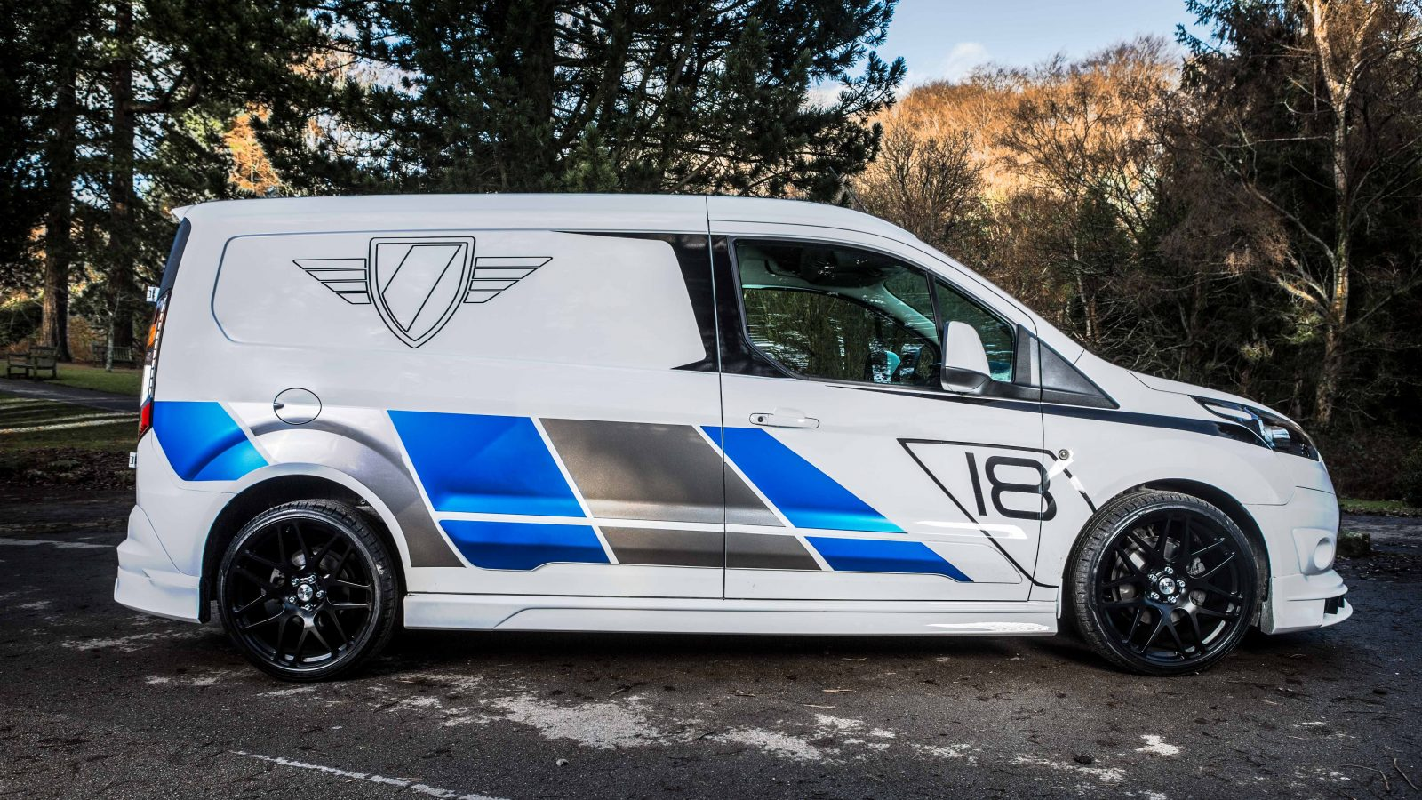 Ford Transit Connect Side Skirts Xclusive Customz