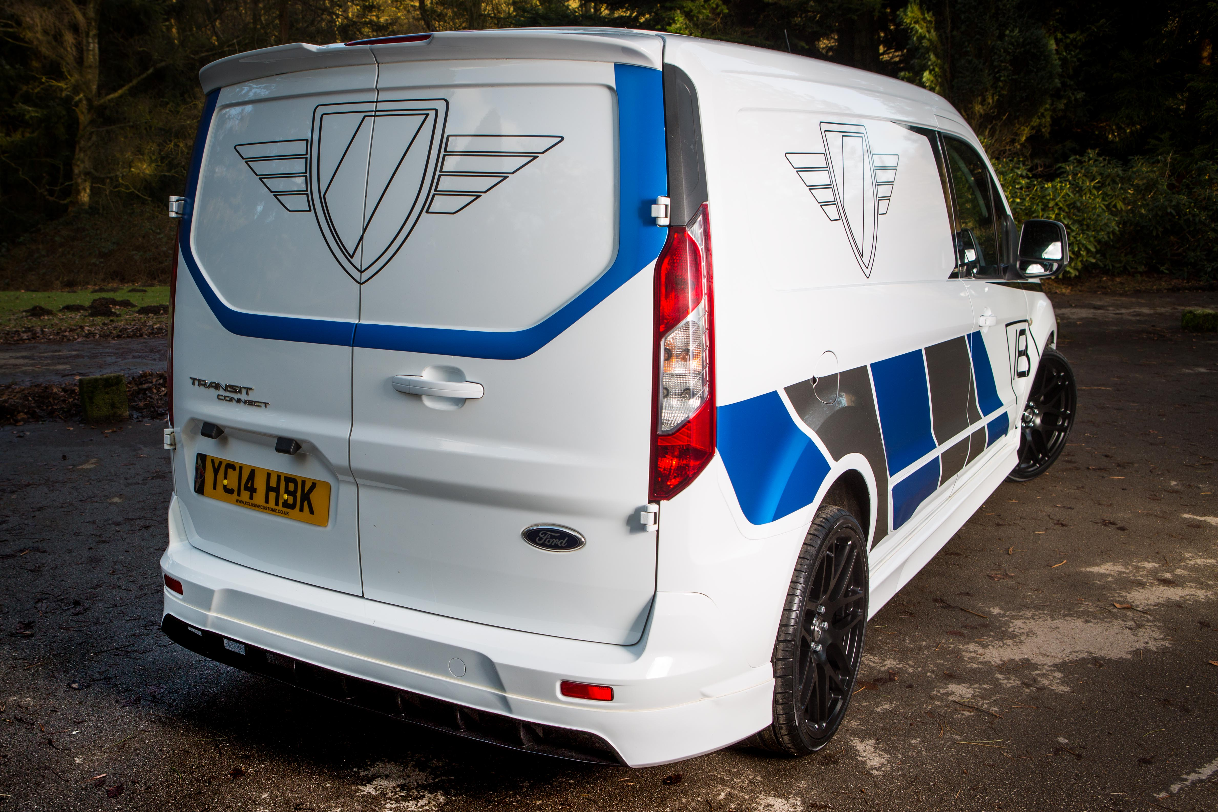 Ford Transit Connect Rear Bumper