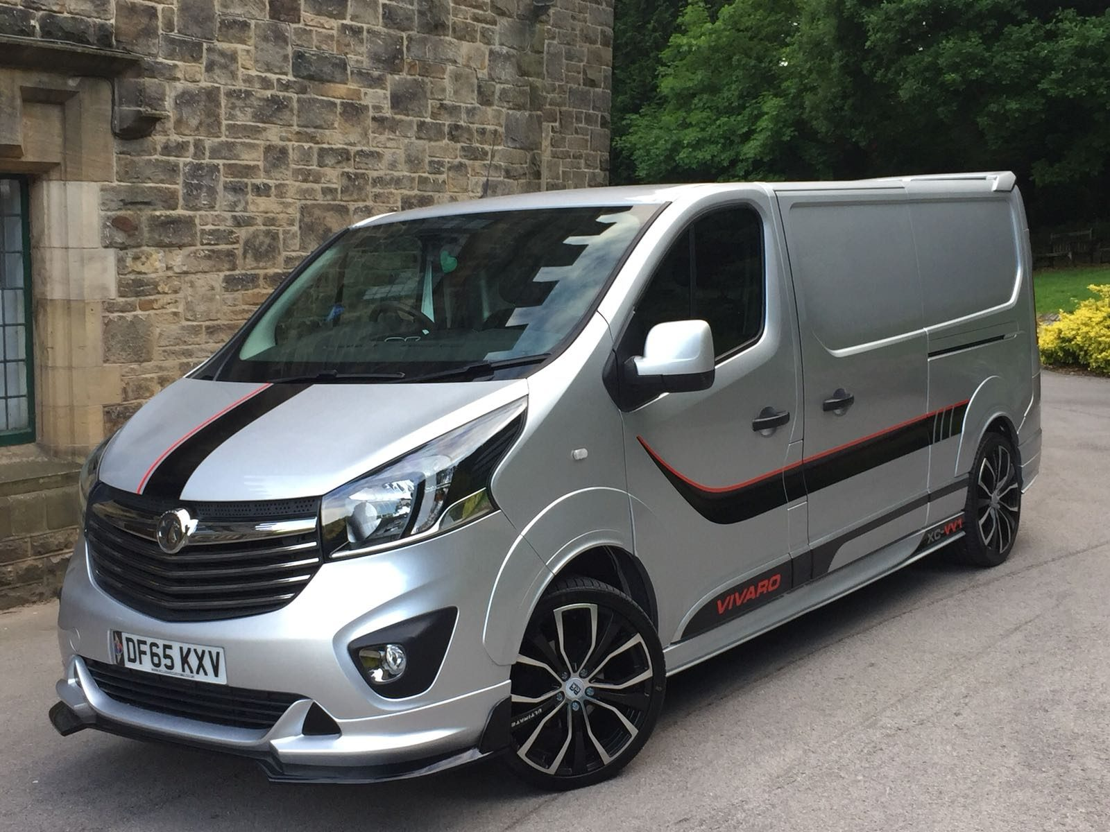 Vauxhall Vivaro Arches 10 Piece Xclusive Customz