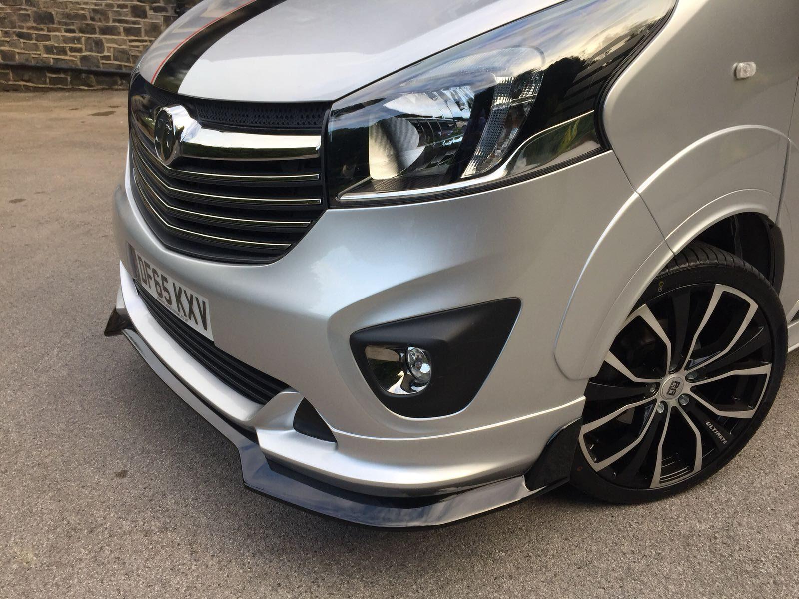 Vauxhall Vivaro | Front Bumper and Splitter